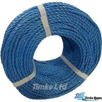 6mm Blue Drawcord Rope x 220m Coil